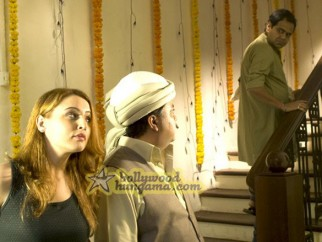 Movie Still From The Film Aloo Chaat Featuring Sanjay Mishra