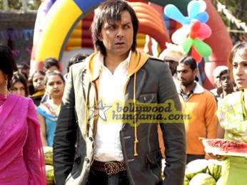 Movie Still From The Film Ek The Power Of One Featuring Shreya Saran,Bobby Deol
