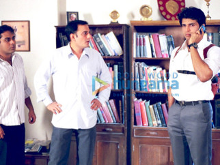 Movie Still From The Film Detective Naani Featuring Ankur Nayyar