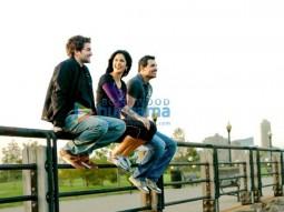 Movie Still From The Film New York Featuring John Abraham,Neil Nitin Mukesh,Katrina Kaif