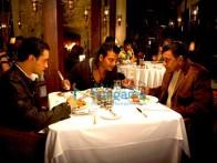Movie Still From The Film Luck Featuring Imran Khan,Ravi Kishan,Mithun Chakraborty
