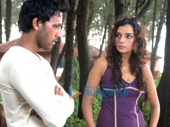 Movie Still From The Film Soch Lo Featuring Sartaj Singh Pannu,Barkha Madan