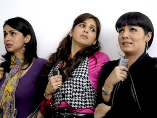 Movie Still From The Film Hello Darling,Gul Panag,Eesha Koppikhar,Celina Jaitly