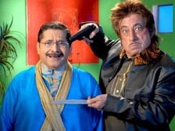 Movie Still From The Film Bachao,Tiku Talsania,Shakti Kapoor