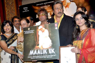 Photo Of Kishori Shahane,Deepak Balraj Vij,Anup Jalota,Shakti Kapoor,Jackie Shroff,Divya Dutta From The Audio release of Maalik Ek