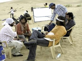 On The Sets Of The Film Kaalo Featuring Aditya Srivastav,Swini Khara,Paintal
