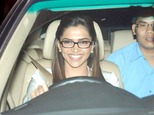 Hrithik, Deepika, Shahid and others at the screening of 'Guzaarish'