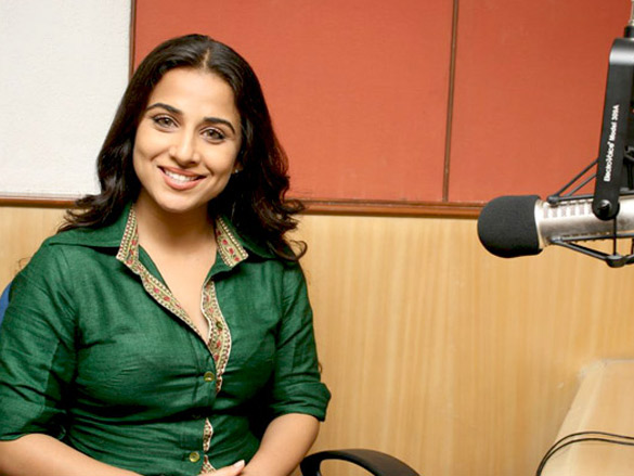Vidya and Rani promote 'No One Killed Jessica' at Radio City 91.1 FM