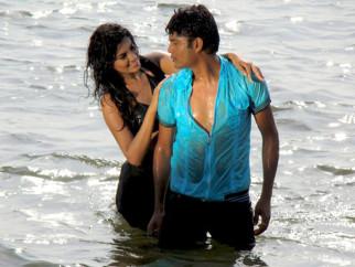 Movie Still From The Film Impatient Vivek,Sayali Bhagat,Vivek Sudarshan