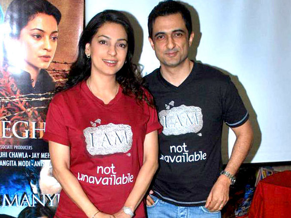 Juhi Chawla at the launch of My Brother Nikhil the screenplay