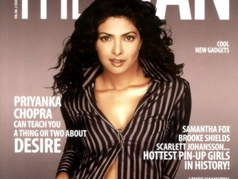 Priyanka Chopra On The Cover Of The Man,Nov 2008
