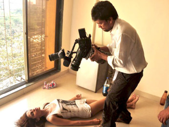 On The Sets Of The Film Beyond Featuring Natasha