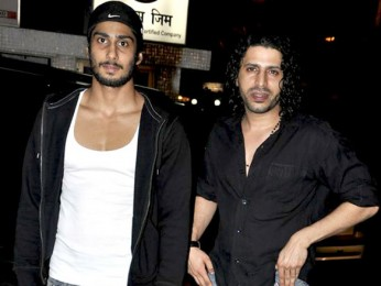 Photo Of Prateik Babbar,Faruk Kabir From The Naseruddin Shah and Prateik Babbar watch 'Allah Ke Banday'