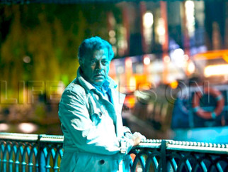 Movie Still From The Film Life Goes On,Girish Karnad