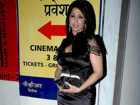 Neha Dhupia at the special screening of 'Chalo Dilli'