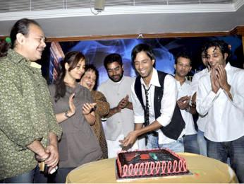 Photo Of Raj Zutshi,Ashutosh Rana,Eddie Seth From The Audio release of 'A Strange Love Story'