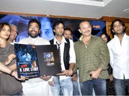 Photo Of Ashutosh Rana,Eddie Seth,Raj Zutshi From The Audio release of 'A Strange Love Story'