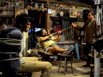 Movie Still From The Film Bheja Fry 2,Kay Kay menon,Amole Gupte,Vinay Pathak