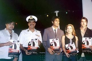 Photo Of Himesh Reshammiya,Arjun Rampal,Amisha Patel,Hrithik Roshan From The Audio Launch Of Vaada