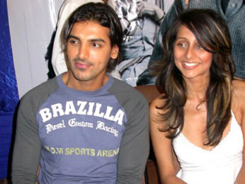 Photo Of John Abraham,Anousha Dandekar From The Audio Launch Of Viruddh