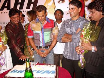 Photo Of Anand Raj Anand,Salman Khan,Arbaaz Khan From The Audio Launch Of Wajahh