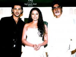 Photo Of John Abraham,Bipasha Basu,Amitabh Bachchan From The Audio Release Of Aetbaar