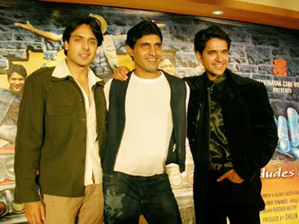 Photo Of Iqbal Khan,Imtiaz Punjabi,Anuj Sawhney From The Audio Release Of Fun2shh... - Dudes In The 10th Century