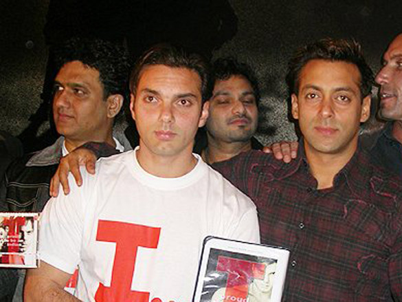 Photo Of Dabbo Malik,Sohail Khan,K. C. Loy,Salman Khan,Tim Lawrence From The Audio Release Of 'I - Proud To Be An Indian'