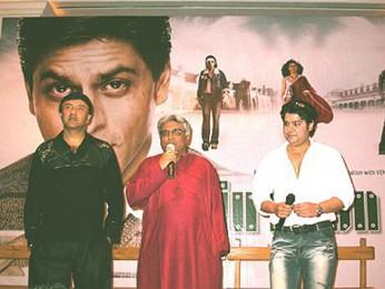 Photo Of Anu Malik,Javed Akhtar,Sajid Khan From The Audio Release Of Main Hoon Na