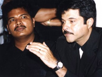 Photo Of Shankar,Anil Kapoor From The Audio Release Of Nayak