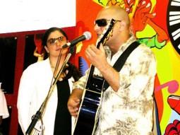 Photo Of Pooja Bhatt,Sabir Zafar From The Audio Release Of Paap