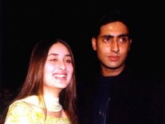 Photo Of Kareena Kapoor,Abhishek Bachchan From The Audio Release Of Refugee