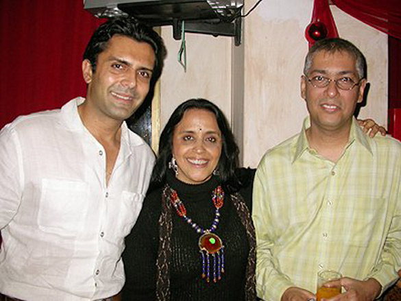 Photo Of Asseem Merchant,Ila Arun,Taran Adarsh From The Ila's Surprise Birthday Bash