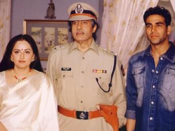 Photo Of Jaya Prada,Amitabh Bachchan,Akshay Kumar From The Launch Party Of Khakee