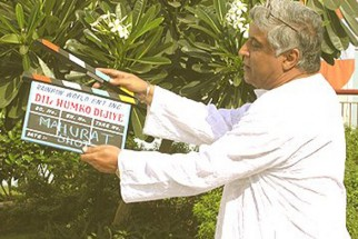 Photo Of Javed Akhtar From The Mahurat Of Dil Humko Dijiye