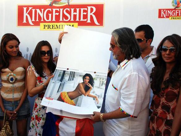 Launch Of Kingfisher Calendar