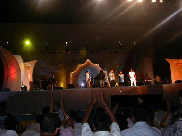 Shankar Ehsaan Loy Concert At IFFI
