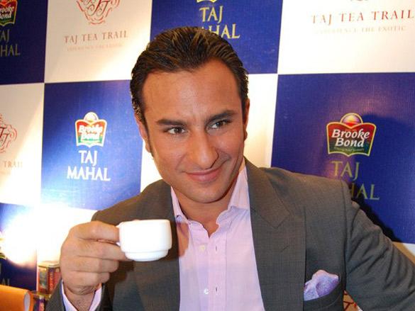 Saif Ali Khan Inaugurated 'Taj Tea Trail'