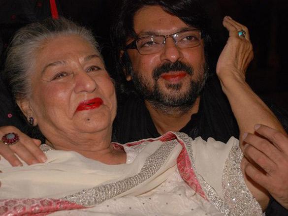 Photo Of Begum Para,Sanjay Leela Bhansali From The Audio Release Of Saawariya