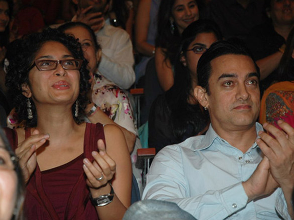 Aamir Khan At Shiamak's 'I Believe'