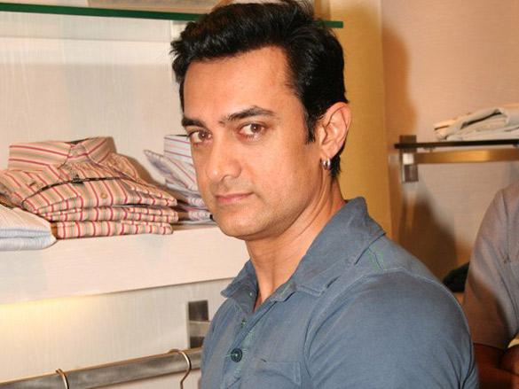 Aamir Launches Ted Lapidus In Mumbai