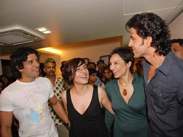 Hrithik Roshan Inagurates B'Blunt Saloon