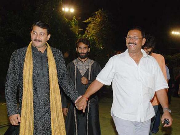 Amitabh,Abhishek And Aishwarya At The Launch Of Gangotri Music