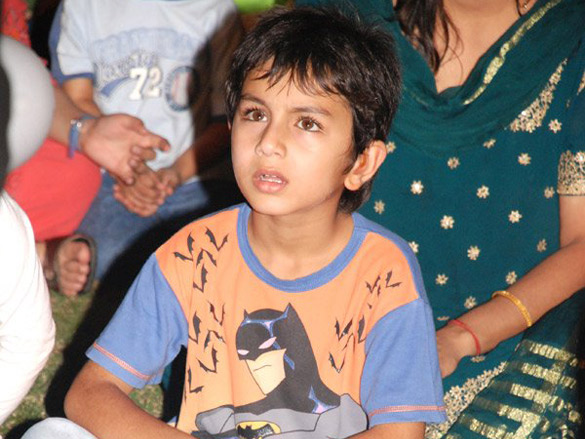 Photo Of Ibrahim Ali Khan From The Amrita Singh At Children's Mela