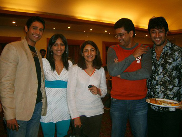 Photo Of Manoj Biddvai,Meghna Naidu,Dipti Naval,Ashok Nanda From The Cast Of Rivaaz Celebrate The Film Heading To NY Festival