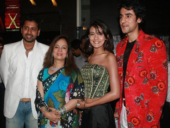 Photo Of Mohit Hussein,Smita Thackeray,Neha Julka,Rajveer Dutt From The Premiere Of Kaisay Kahein
