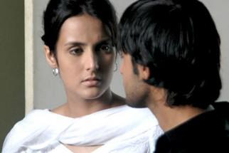 Movie Still From The Film Hostel,Tulip Joshi,Vatsal Sheth