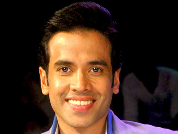 Tusshar and Shreyas on the sets of India's Got Talent