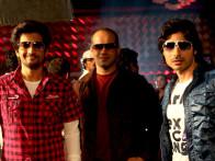 Movie Still From The Film Sahi Dhandhe Galat Bande,Ashish Nair,Kuldeep Ruhil,Vansh Bhardwaj