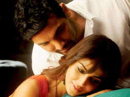 Movie Still From The Film Force,John Abraham,Genelia Dsouza